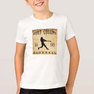 1898 Fort Collins Colorado Baseball T-Shirt