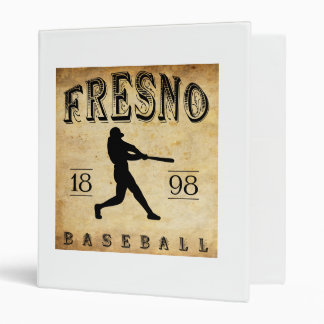 1898 Fresno California Baseball 3 Ring Binder