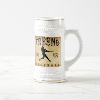1898 Fresno California Baseball Beer Stein