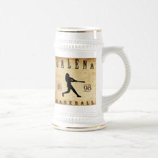 1898 Galena Kansas Baseball Beer Stein