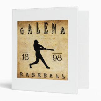 1898 Galena Kansas Baseball Binder
