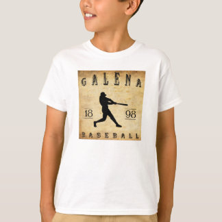 1898 Galena Kansas Baseball T-Shirt