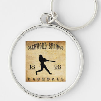 1898 Glenwood Springs Colorado Baseball Key Chains