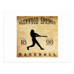1898 Glenwood Springs Colorado Baseball Post Cards