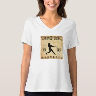 1898 Glenwood Springs Colorado Baseball Shirt