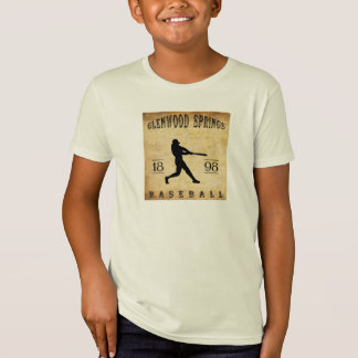 1898 Glenwood Springs Colorado Baseball T-Shirt
