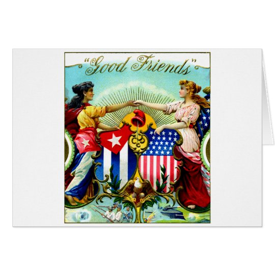 1898 Good Friends Cigars Card