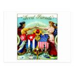 1898 Good Friends Cigars Postcard