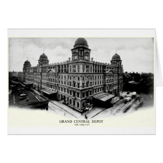 1898 Grand Central Depot Card