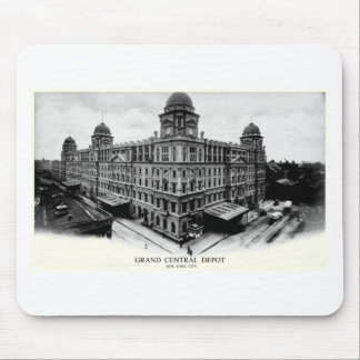 1898 Grand Central Depot Mouse Pads