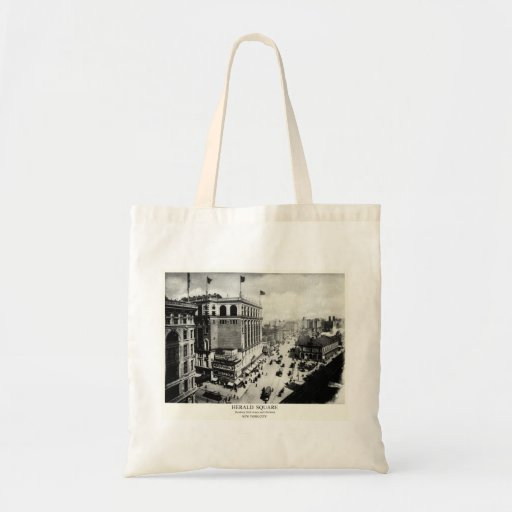 1898 Herald Square New York City Bag