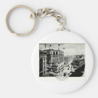 1898 Herald Square New York City Keychain