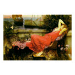 1898) lonas de bella arte del ~ de Ariadne ( Poster