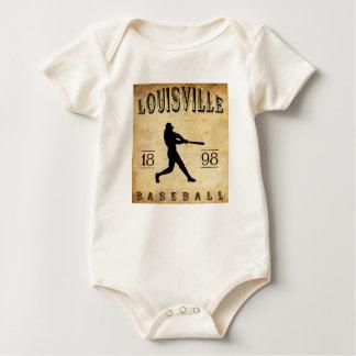 1898 Louisville Colorado Baseball Baby Bodysuit