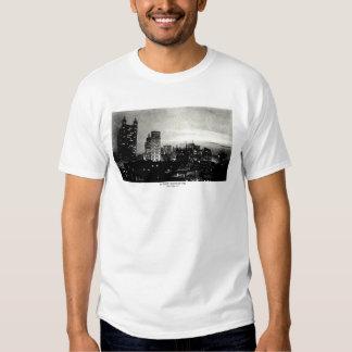 1898 Lower Manhattan at dusk T-Shirt