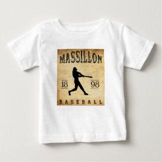 1898 Massillon Ohio Baseball Baby T-Shirt