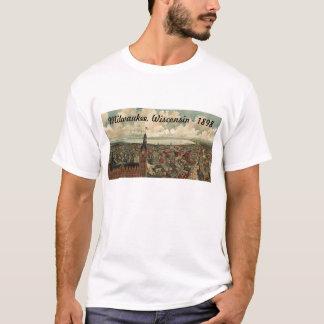 ¡1898 Milwaukee, camiseta de la opinión de ojo de