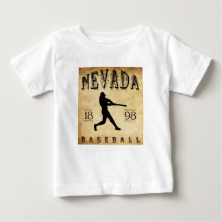 1898 Nevada Missouri Baseball Baby T-Shirt