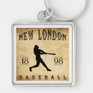 1898 New London Connecticut Baseball Keychains