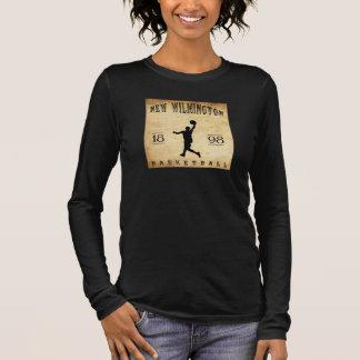 1898 New Wilmington Pennsylvania Basketball Long Sleeve T-Shirt