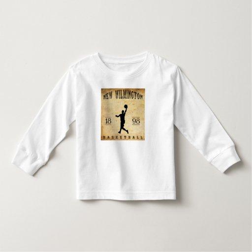 1898 New Wilmington Pennsylvania Basketball Toddler T-shirt
