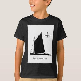 1898 Norfolk Wherry - tony fernandes T-Shirt