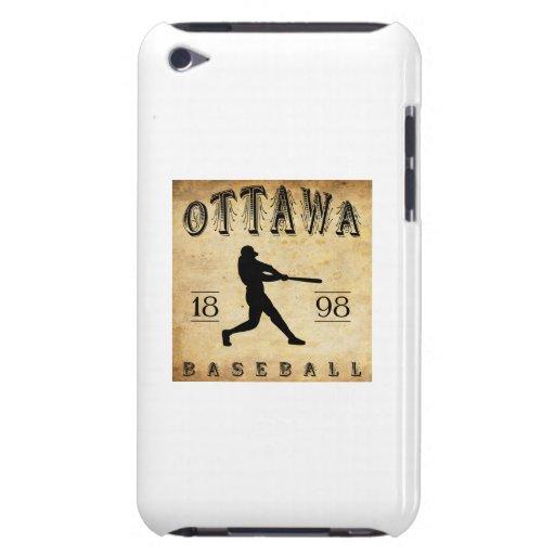 1898 Ottawa Ontario Canada Baseball Barely There iPod Case