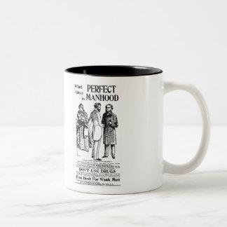 1898 Perfect Manhood newspaper ad Mug