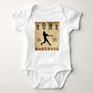 1898 Rome New York Baseball Baby Bodysuit
