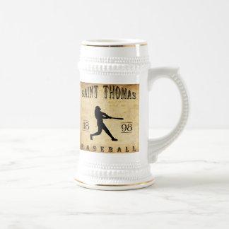 1898 Saint Thomas Ontario Canada Baseball Beer Stein
