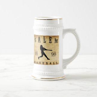 1898 Salem Ohio Baseball Beer Stein