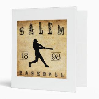 1898 Salem Ohio Baseball Binder