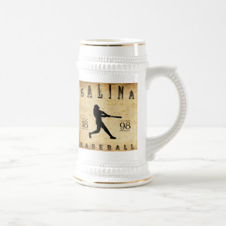1898 Salina Kansas Baseball Beer Stein