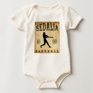 1898 Sedalia Missouri Baseball Baby Bodysuit