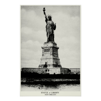 1898 Statue of Liberty Poster