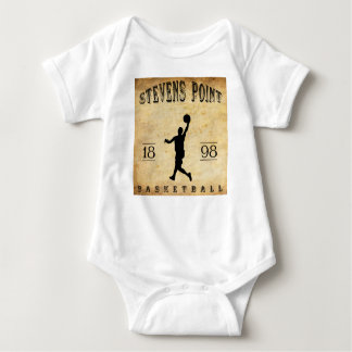 1898 Stevens Point Wisconsin Basketball Baby Bodysuit