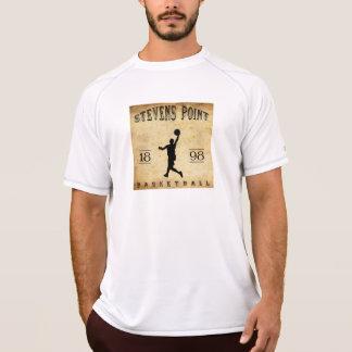 1898 Stevens Point Wisconsin Basketball T-Shirt
