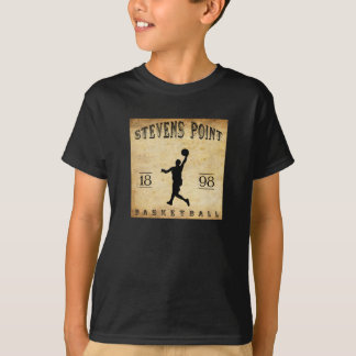 1898 Stevens Point Wisconsin Basketball T-Shirt