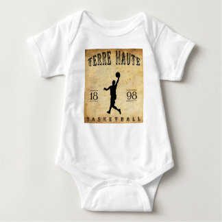 1898 Terre Haute Indiana Basketball Baby Bodysuit