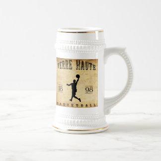 1898 Terre Haute Indiana Basketball Beer Stein