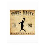 1898 Terre Haute Indiana Basketball Postcards