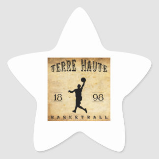 1898 Terre Haute Indiana Basketball Star Sticker
