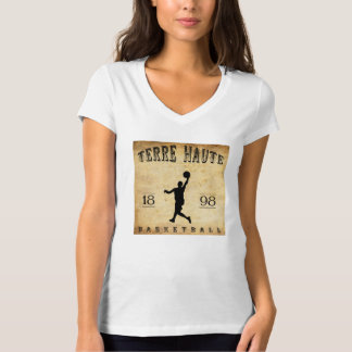 1898 Terre Haute Indiana Basketball T-shirt