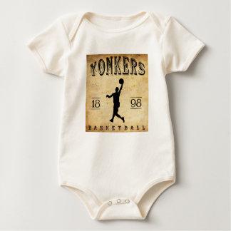 1898 Yonkers New York Basketball Baby Bodysuit