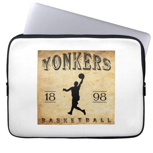 1898 Yonkers New York Basketball Computer Sleeves