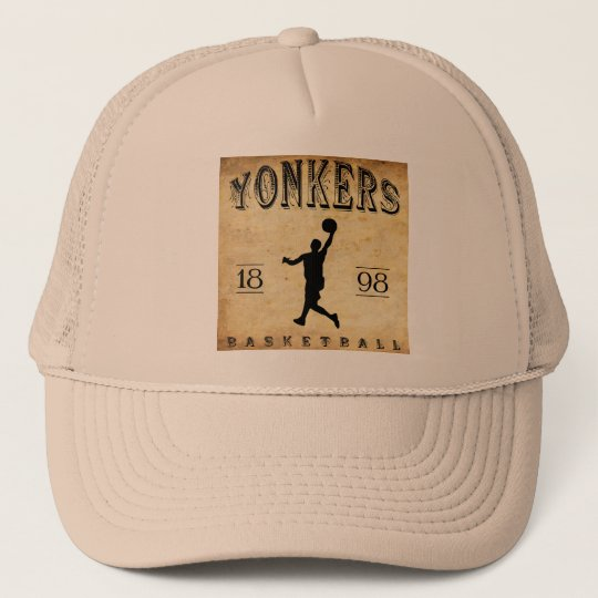 1898 Yonkers New York Basketball Trucker Hat