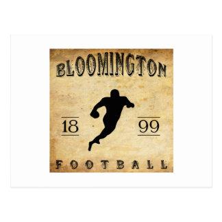 1899 Bloomington Indiana Football Postcard