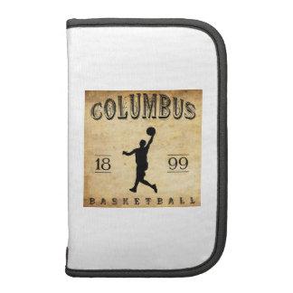 1899 Columbus Ohio Basketball Folio Planner