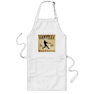 1899 Danville Indiana Baseball Long Apron