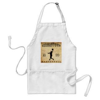 1899 Germantown Pennsylvania Basketball Adult Apron